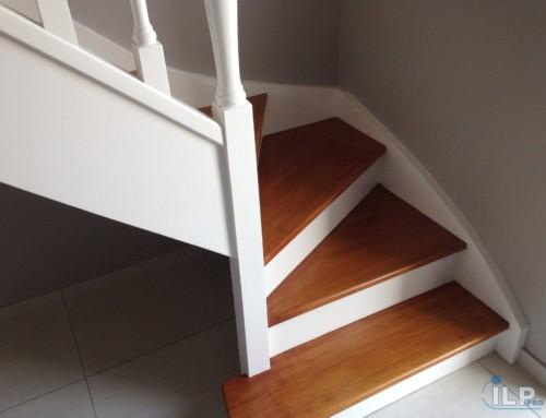 Escalier à l'Anglaise