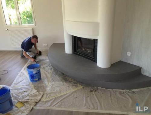 Modernisation d'une cheminée